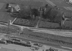 Le Château et la Grange d'Eventard - Années 70